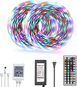 Daybetter 32.8ft Color Changing 3528 Led Light Strip Kit