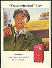 Travel refreshed I say Coca-Cola ad 1951 taxi driver vending machine