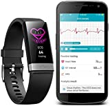 Fitness Tracker,AUPALLA 21BP Smart band Activity Tracker Work With Heart Rate Monitor and Blood Pressure Measure Pedometer Sleep Monitor Calories Track Support iPhone Android Smartphone (BLACK)