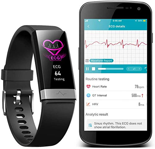 AUPALLA Fitness Trackers, 21BP Smart band Activiteit Trackers Met Bloeddruk Meet Hartslagmeter Slaapmonitor Stappenteller Calorieën Track Stopwatch ALLEEN Ondersteuning iPhone Android Smartphone