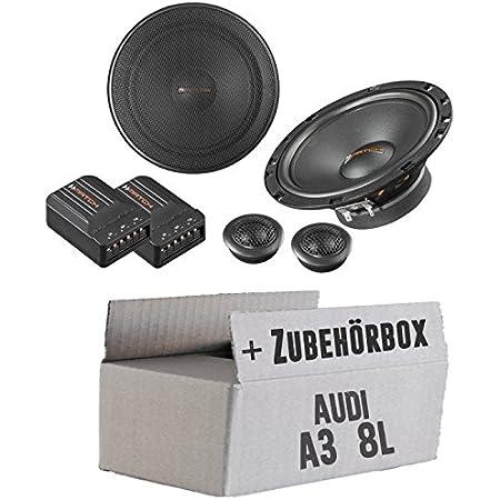 Ground Zero Gzif52x 13cm Lautsprecher Koaxe Einbauset Für Audi A3 8l Just Sound Best Choice For Caraudio Navigation