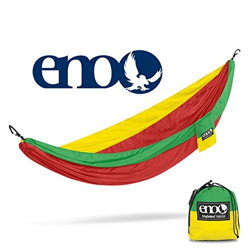 ENO - Eagles Nest Outfitters SingleNest Hammock, Portable Hammock for One, Rasta