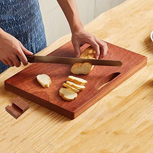 XURURR Bamboo Pizza Torta Serving Platter Taglio Consiglio, Sezioni Snack Legno Canape Platter (Size : B)