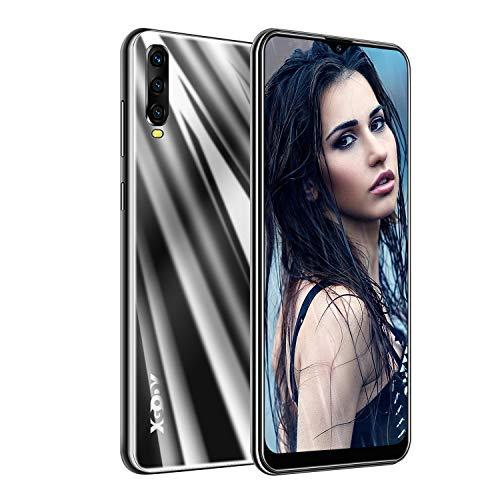 XGODY A90 Smartphones ohne Vertrag,6.53 Zoll Großer Touchscreen Günstig Smartphones Angebote,2GB RAM 16GB ROM Smartphones Dual SIM Android 9 Handy-Schwarz