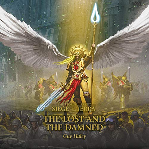 The Lost and the Damned audiobook cover art