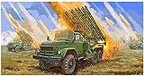Trumpeter 001062 1/35 2B7R - Maqueta de lanzador de cohetes BM13 NMM , color/modelo surtido