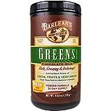 Barlean's Greens Powder Formula Chocolate Silk -- 9.52 oz