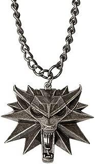 Namco Bandai/Warner Bros kolye, Kurt Kafası-madalyon, motiv the Witcher 3: Wild Hunt, koleksiyon Edition