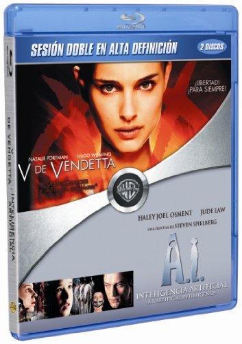 V De Vendetta + Inteligencia Artificial [Blu-ray]