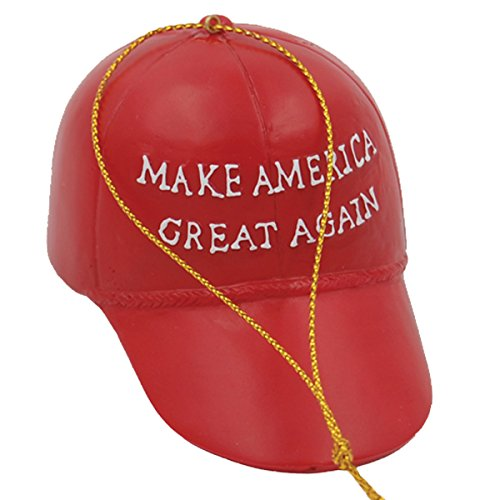 My Little Town Donald Trump MAGA hat Ornament