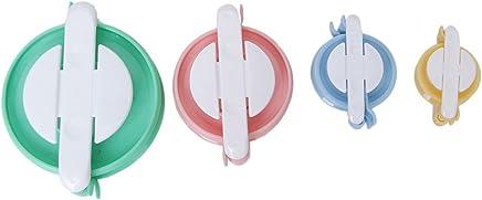 Generic Plastic 4 Size Multicolour Bobble Weaver