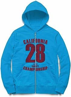 Fox Republic カリフォルニア チャンピオンシップ ロゴ キッズ ジッパー パーカー スウェット トレーナー