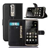 ECENCE Handy-Schutzhülle - Handytasche für ZTE Axon Mini