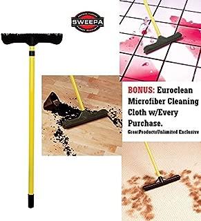 "Sweepa Rubber Broom. DUTCH RUBBER BROOM (51"" Pole w/Head-12"")"