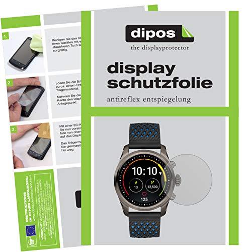 dipos I 6X Schutzfolie matt kompatibel mit Montblanc Summit 2 Folie Bildschirmschutzfolie