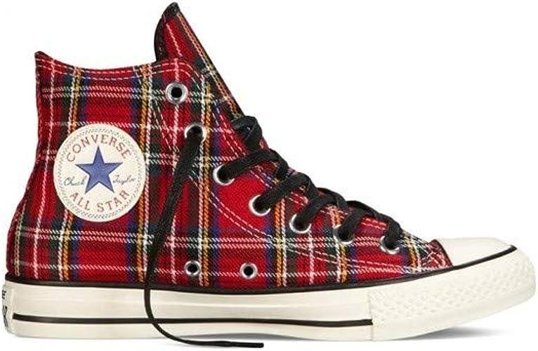 Converse Scarpe Alte Chuck Taylor all Star Textile in Tessuto ...