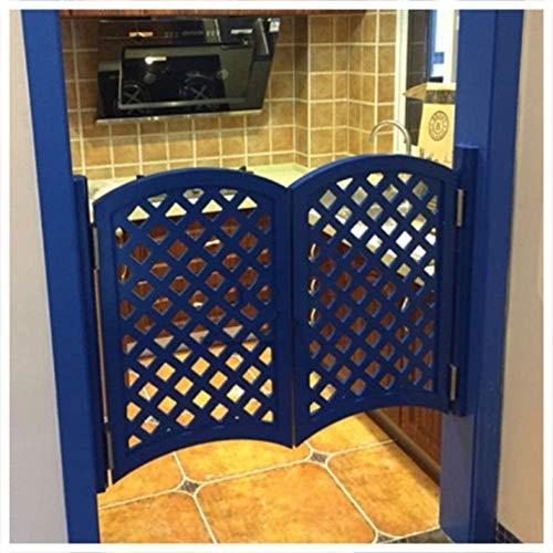 LKJHG Swing Cafe Tür, Kiefer Holz Material Umweltschutz Material, Kundengerechte Größe Zaun Türfrei Restaurant Küche Bar Mediterran (Farbe: Weiß, Größe: 140cmx90cm)(Size:130cmx90cm,Color:Weiß)