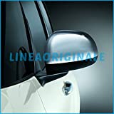 Calotte specchietti Laterali Cromate Lucide Originali Fiat 500L