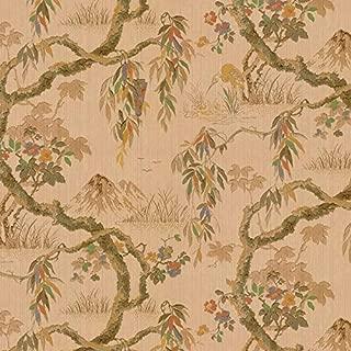 Dollhouse 1:12 Scale Wallpaper Vintage Oriental Wisteria by Bradbury and Bradbury