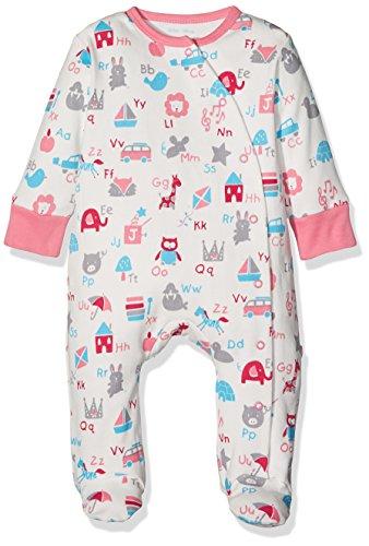 Kite Kite Baby-Mädchen ABC Sleepsuit Schlafstrampler, Rose, 50