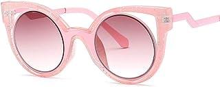 KUANDAR GLA - Gafas de Sol para niños, UV400 Gafas, Gafas De Sol De Aviador, Montura Cómoda con, Protección UV, para niños con Montura de Metal-Acero Fino