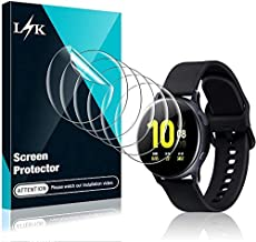 6 Pack LϟK Screen Protector Compatible for Samsung Galaxy Watch Active 2 40mm, Max Coverage, HD Clear Flexible TPU Film