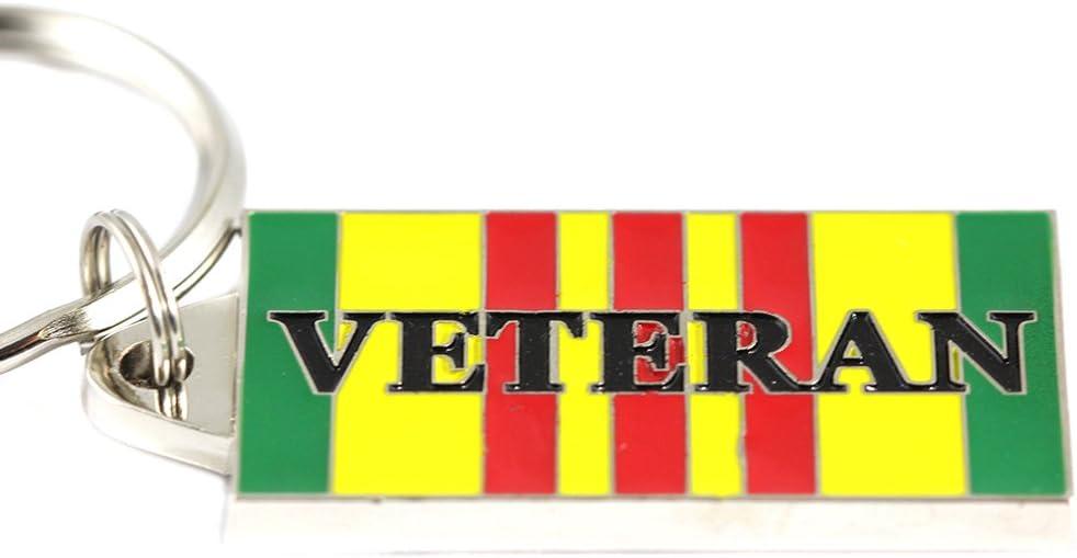 Vietnam Veteran Service Ribbon Keyring