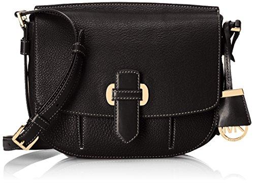 MICHAEL Michael Kors Women's Romey Messenger Bag, Black, One Size