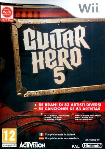 Guitar Hero 5 [Importación italiana]