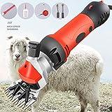850 W Wollschere, Elektrische Fader für Haustiere, 6-Fach verstellbare elektrische Schere, Woll- / Tierschermaschine, für Schafe/Pferde/Kuh/Vieh, 220-240 V,Upgraded-Version