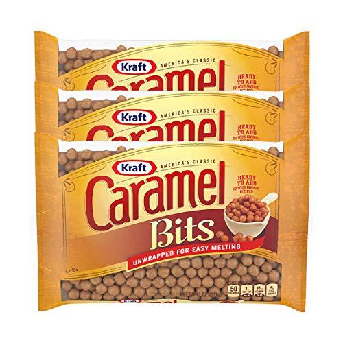Kraft, Caramel Bits, 11oz Bag (Pack of 3) by Kraft