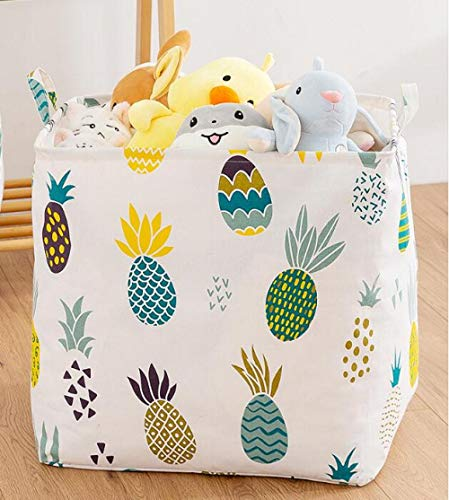 ZZXGG Dirty Clothes Basket Cotton and Linen Cloth Beam Beam Waterproof Waterproof Foldable Storage Basket