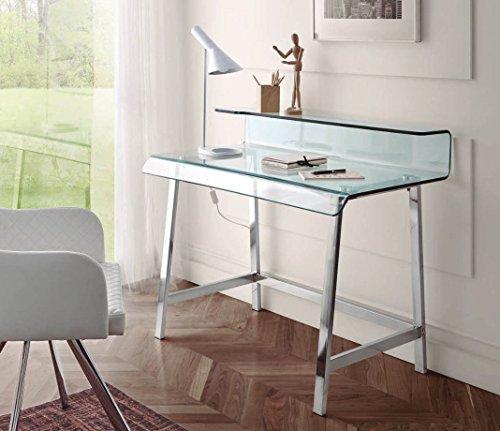 DUGARHOME - Escritorios Modernos - Mueble DK-903 Acero/Cristal
