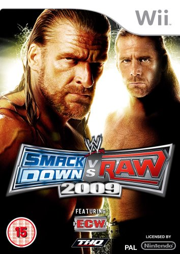 WWE Smackdown vs. Raw 2009 (Wii) [Edizione: Regno Unito]