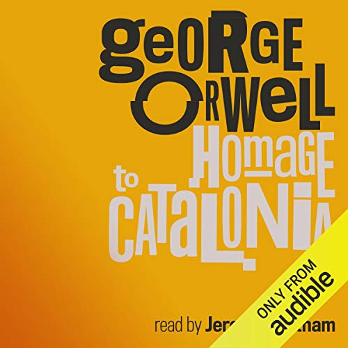 Homage to Catalonia audiobook cover art