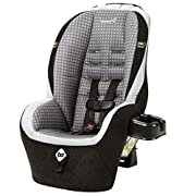 Rear-facing car seat from 5-40 pounds and 19-40'' Forward-facing car seat from 22-40 pounds and 34-43'' 4 harness heights and 3 buckle locations give growing child a better fit
