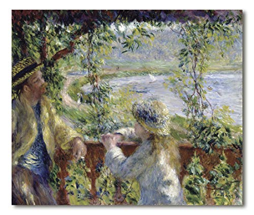 Cuadro Decoratt: By the Water - Renoir 41x35cm. Cuadro de impresión directa.