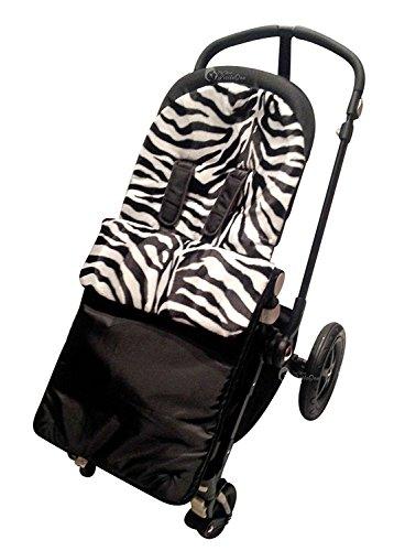 Imprimé animal rembourré Chancelière/Cosy orteils Compatible avec Bugaboo Bee/Donkey/Cameleon Zebra