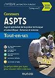 Concours ASPTS Agent spécialisé de la police technique et scientifique - 2020-2021 : Tout-en-un (J'intègre la Fonction Publique)