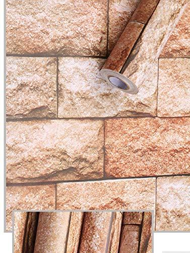 *Visario 10 m x 45 cm Tapeten Folie 3000-S Art. 3004 selbstklebend Verschiedene Motive Steinoptik Steine Dekorfolie Möbelfolie Tapete*