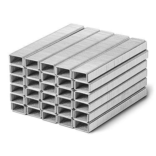 TROTEC Tackerklammern Typ 53 5.000 Stück 6mm Länge x 11,4mm Breite für Handwerker verschiedene Materialien Kombinierbar mit Akku-Tacker PTNS 10-3,6V