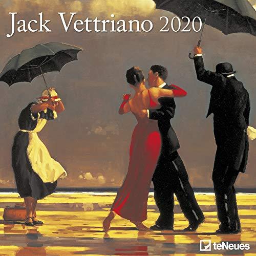 Jack Vettriano Square Wall Calendar 2020