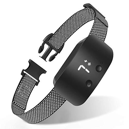 NBJU Bark Collar for Dogs,Rechargeable Anti Barking Training Collar with 7 Adjustable Sensitivity...