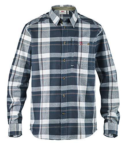 FJÄLLRÄVEN Fjällglim Shirt à Manches Longues Homme, Dark Blue, FR : M (Taille Fabricant : M)