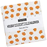 Stacy Iest HSU Holiday Essentials Halloween Charm Pack 42 5-inch Squares Moda Fabrics 20730PP