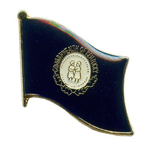 Kentucky Flag Frankfort Amerika USA US KY Metall Button Badge Pin Anstecker 0741