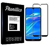 PHONILLICO [Pack de 2] Verre Trempe Bord Noir pour Huawei Y6 2019 / Y6 Pro 2019 / Y6 Prime 2019 -...