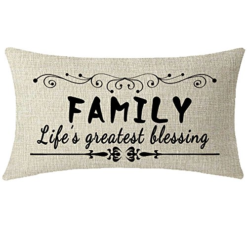 NIDITW Familiy Den Throw Pillow Cover
