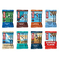 SOMETHING FOR EVERYONE: With 9-11g of protein in each bar, this variety pack contains 16 energy bars of your favorite CLIF flavors NUTRITION FOR SUSTAINED ENERGY: CLIF BAR is the ultimate performance energy bar, purposefully crafted with an ideal mix...