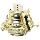 Magic&shell Oil Lamp Burner No.2 Brass Kerosene Oil Lamp Burner